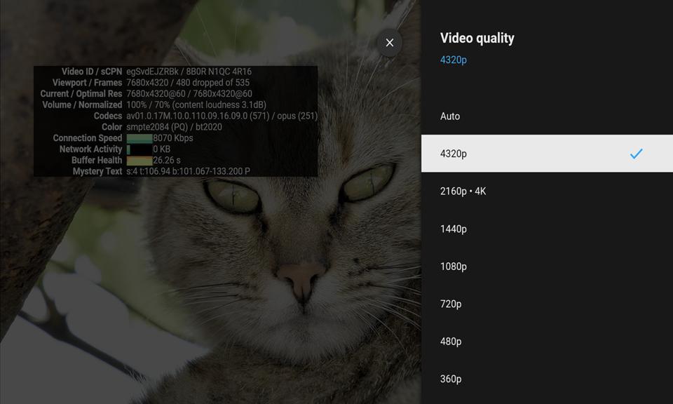 YouTube™ for TV 4K