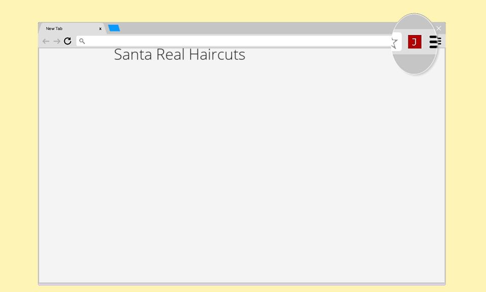 Santa Real Haircuts