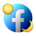 Auto Dark Theme for Facebook 插件