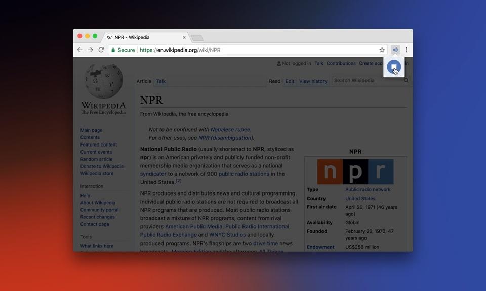 NPR Player