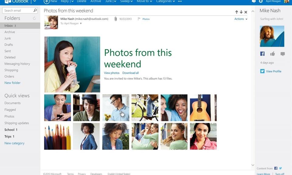 Outlook.com-微软个人电子邮件插件
