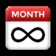 Infinite Monthly Calendar 插件