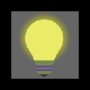 Light bulb hovering luminous effect 插件