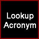 Lookup Acronym