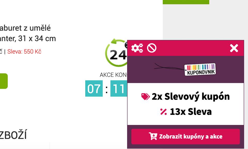 Kuponovnik.cz - Slevy, Akce, Kupóny