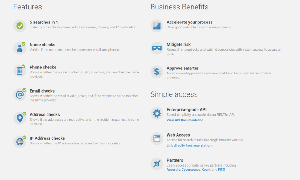 Whitepages Pro for Magento