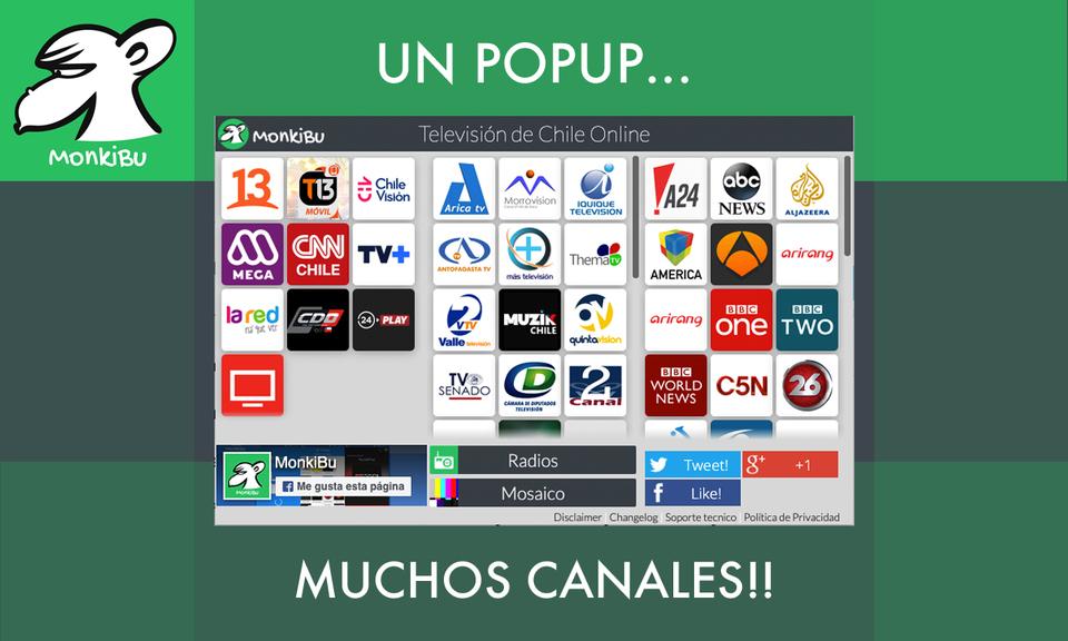 MonkiBu TV y Radios Online