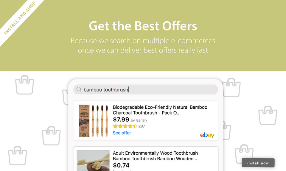 Shop it Easy : Best Deals with Chrome™