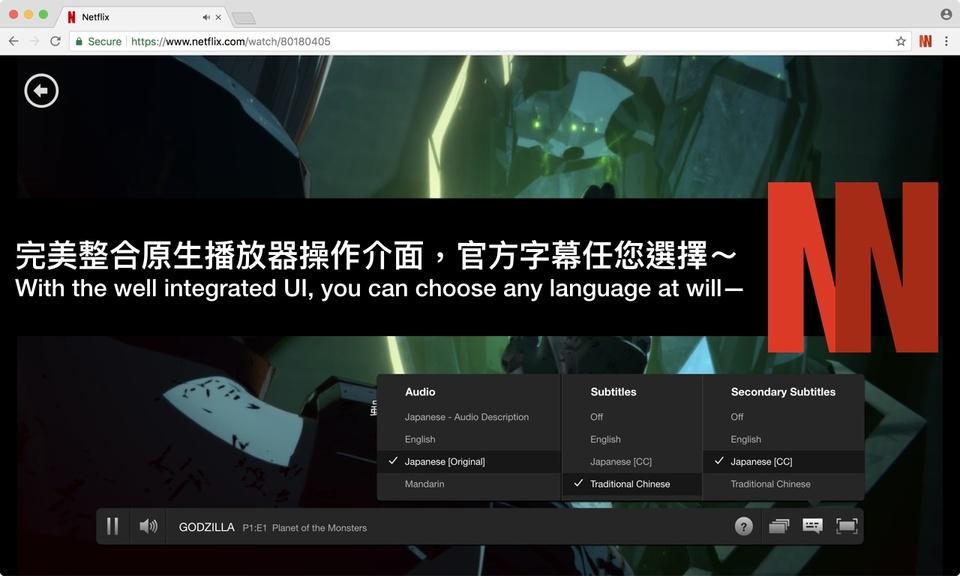 NflxMultiSubs (Netflix Multi. Subtitles)