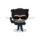 Hides restricted message of github 插件
