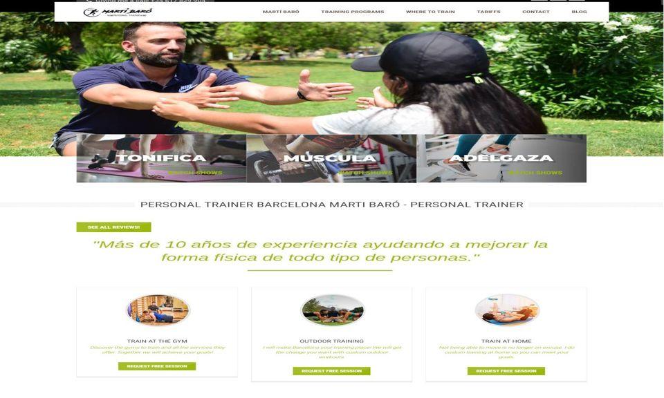 Entrenadorpersonalbcn.es