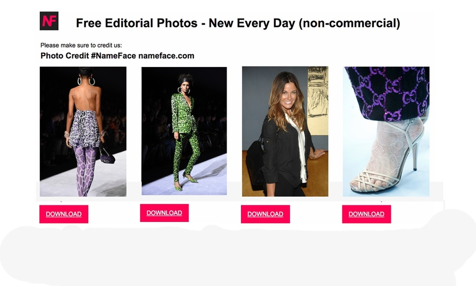 Free Editorial Photos (by NameFace)