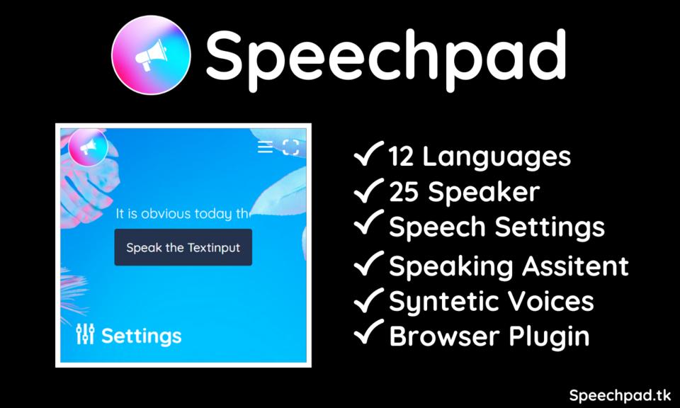 Speechpad Toolbar