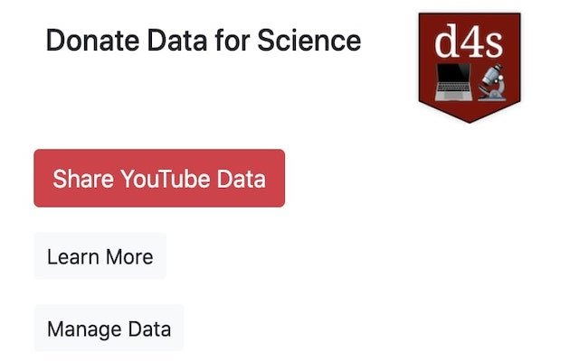 Donate Data for Science