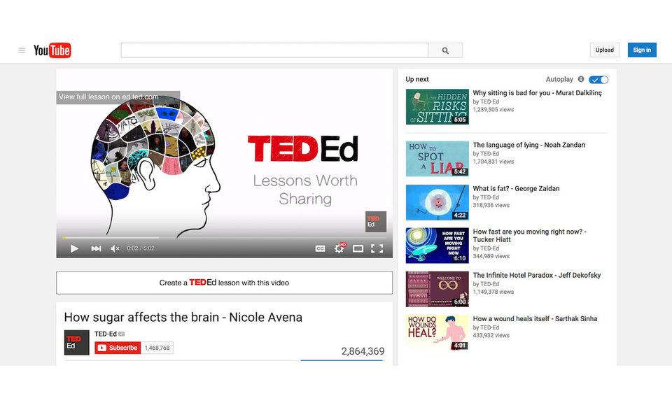 TED-Ed YouTube Plugin