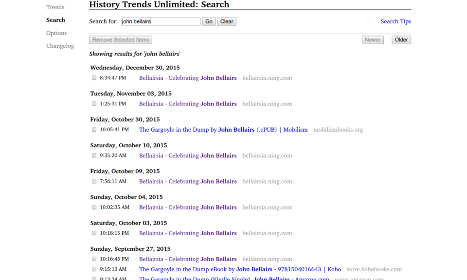 History Trends Unlimited