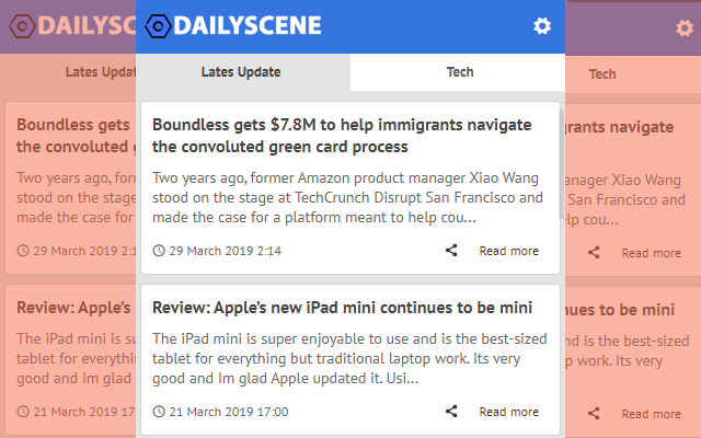 Daily Scene - Latest Blog News