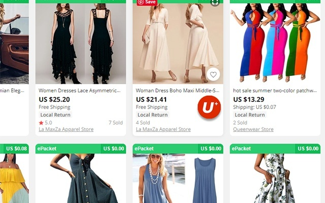 Import Aliexpress Products to UniEC