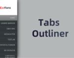 Tabs Outliner插件,标签页以侧边栏树状图列表显示