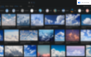 Blur the body插件,为网页添加模糊马赛克效果