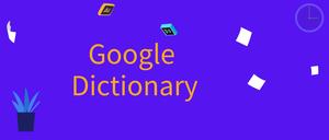 Google Dictionary (by Google),谷歌词典插件,双击文本获取单词外文释义