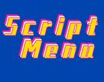 Script Menu插件,自定义右键菜单栏,可添加多种菜单格式
