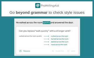 ProWritingAid插件,英文写作语法单词拼写检测