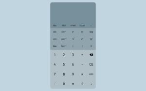Scientific Calculator插件,在线科学计算器