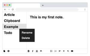 My Notes插件,即时笔记/待办事项/备忘录工具