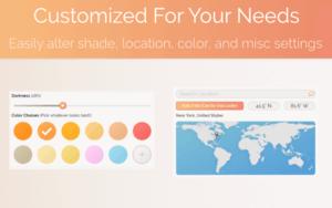 Screen Shader插件,自定义调节网页颜色,防蓝光护眼工具
