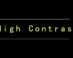 High Contrast,Chrome高对比度模式插件,实现页面颜色反转