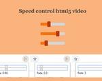 视频速度控制器插件,视频倍速播放加强控件
