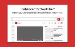 Enhancer for YouTube插件,YouTube播放器多功能增强控件