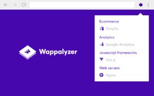 Wappalyzer插件,网站技术检测分析工具