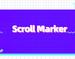 Scroll Marker插件,在网页底部添加线条,标记当前阅读位置