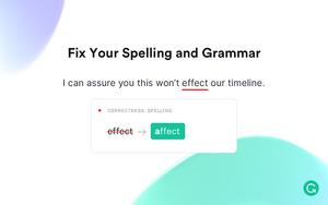 Grammarly for Chrome插件,单词拼写、语法在线实时检测
