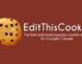 EditThisCookie,针对Google Chrome浏览器的Cookie管理器插件