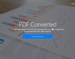 PDF Converted插件,PDF文档格式在线转换