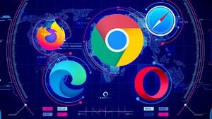 2020年2月浏览器市场份额公布:Edge即将成为全球第二