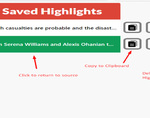 HighlightNow插件,快速保存网页笔记,支持一键跳转