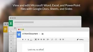 Google Office插件:在浏览器中查看编辑文档/表格/ppt
