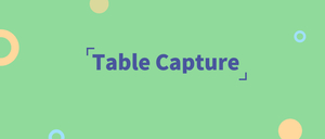 Table Capture,Chrome表格复制插件,自动筛选复制HTML中的表格