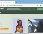 DeviantArt downloader插件,DeviantArt网站图片批量下载