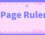 Page Ruler,浏览器页面测量插件,号称屏幕尺子