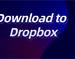 Download to Dropbox插件,云盘存储插件,将Chrome任意内容直接存储至Dropbox