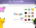 游标猫插件,小猫追逐鼠标光标特效,多类型可选