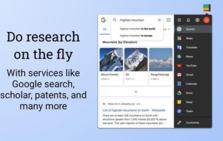 Black Menu for Google™,集成谷歌服务至插件列表,小窗口快速访问
