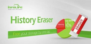History Eraser插件,管理浏览器历史记录,支持一键清除