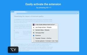 Popup Tab Switcher插件,快捷键切换Chrome标签页
