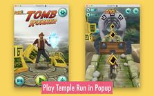 Temple Run Game插件,神庙逃亡在线游戏